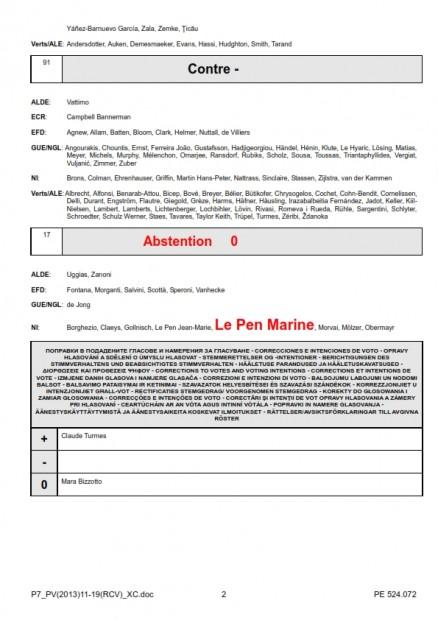 MIE 11-2013 vote Marine le Pen sur subvention européenne du Seine Nord_002